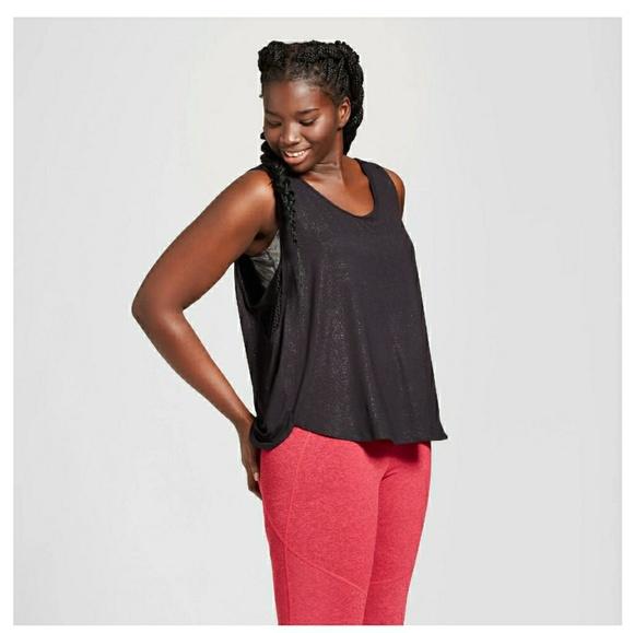 8426d38c4 Joy Lab Tops   Womens Plus Size Shine Muscle Tank Joylab   Poshmark